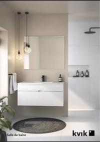 Prospectus Kvik WAVRE : Salle de bains