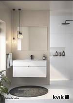 Prospectus Kvik : Salle de bains
