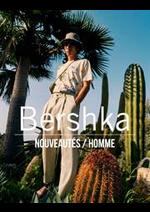 Prospectus Bershka : Nouveautés / Homme