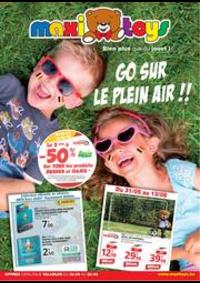 Prospectus Maxi Toys Braine l'Alleud : Go sur le plein air
