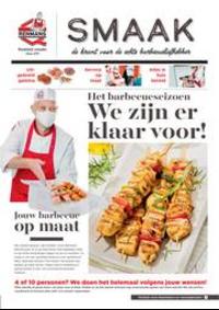 Prospectus Boucherie Renmans ENGHIEN : Smaak de krant voor de echte barbecueliefhebber
