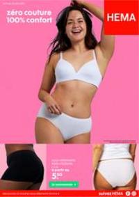Prospectus Hema NINOVE : Zero Couture 100% Confort