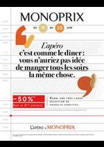 Prospectus Monoprix : -60% sur le 2ème article