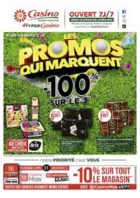Prospectus Supermarchés Casino MORTEAU : Les promos qui marquent