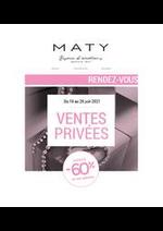 Prospectus Maty : Maty Ventes Privées