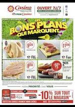 Prospectus Supermarchés Casino : Les bons plans qui marquent