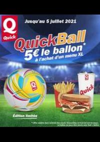 Prospectus Quick LA COURNEUVE : Quick