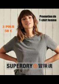 Prospectus Superdry BELLE EPINE : Promotion de T-shirt femme