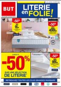 Prospectus But Pontarlier : Literie En Folie !