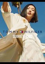 Prospectus Tommy Hilfiger : Sobriété Chic