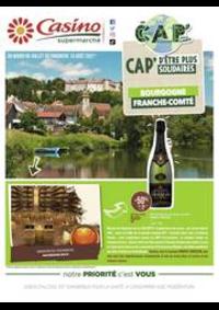Prospectus Supermarchés Casino : Bourgogne Franche-Comté