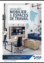 Prospectus Top office : MOBILIER & ESPACE DE TRAVAIL