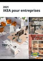 Prospectus IKEA : IKEA pour entreprises 2021
