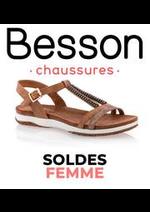 Prospectus besson : Soldes Femme