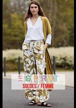 Prospectus Esprit : Soldes / Femme