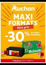 Prospectus Auchan : Maxi format, mini prix !
