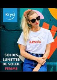 Prospectus Krys PONTARLIER : SOLDES LUNETTES DE SOLEIL FEMME