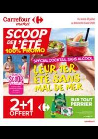 Prospectus Carrefour Market Thonon-les-Bains - Avenue Jules Ferry : SCOOP de l'été !