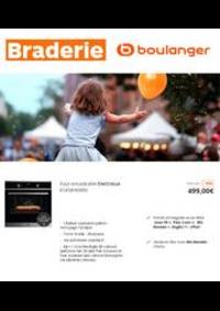 Prospectus Boulanger Besançon : Braderie