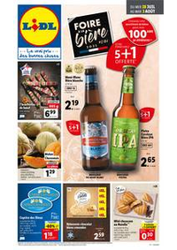 Prospectus Lidl CHAMPAGNOLE : Catalogue de la semaine