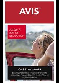 Prospectus AVIS - Paris - Roissy Gare Sncf Tgv : Offres