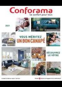 Prospectus Conforama COLOMBES : Guide Sièges 2021
