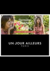 Prospectus Un jour ailleurs PARIS 126 RUE DE RENNES : Dernière Chance -60% sur toute la collection été 21