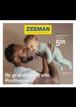 Prospectus Zeeman : Collection Bebé Atutomne 2021