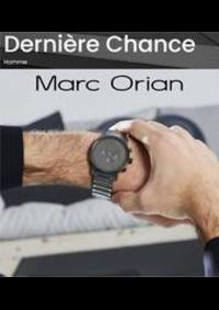 Prospectus Marc Orian Montesson : Dernière Chance Homme