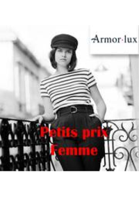 Prospectus Armor Lux PARIS : Petits prix femme