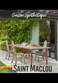 Prospectus Saint Maclou Lille Wattrelos : Promo Gazon synthétique
