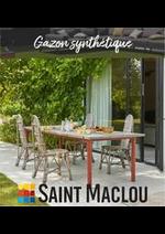 Prospectus Saint Maclou : Promo Gazon synthétique