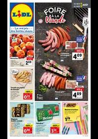 Prospectus Lidl HARFLEUR : Catalogue de la semaine