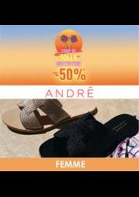 Prospectus André Wasquehal : Coup de soleil -50% FEMME