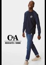 Prospectus C&A : Nouveautés / Homme