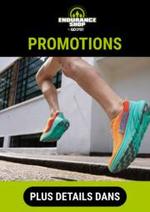 Prospectus Endurance Shop : Promotions Endurance Shop