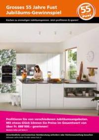Prospectus Fust : Küchenprospekt Herbst 2021