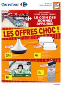 Prospectus Carrefour : Les Offres Choc !