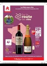 Prospectus Auchan drive : Un grand choix de vins!