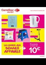 Prospectus Carrefour Drive : Catalogue LA COURSE AUX BONNES AFFAIRES