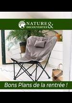 Prospectus Nature & Découvertes : Bons Plans de la rentrée !