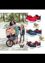 Prospectus Chaussea : UNYK, des chaussures uniques pour vos enfants