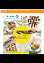 Prospectus E.Leclerc drive : Votre Service Traiteur
