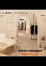 Promos et remises  : Articles ménagers BONS PLANS