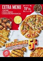 Menus Pizza hut : Offre Spéciale