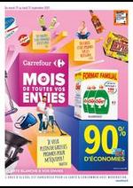 Promos et remises  : Carrefour Le Mois de Toutes Vos Envies