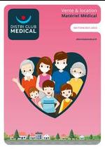 Prospectus Distri Club Medical : Catalogue pour les Particuliers