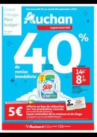 Prospectus Auchan Val d'Europe Marne-la-Vallée : Tout pour le grand ménage d'automne !