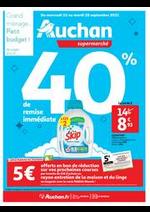 Prospectus Auchan : Tout pour le grand ménage d'automne !