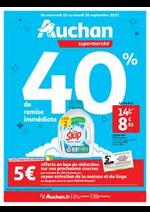 Prospectus Auchan Supermarché : Tout pour le grand ménage d'automne !